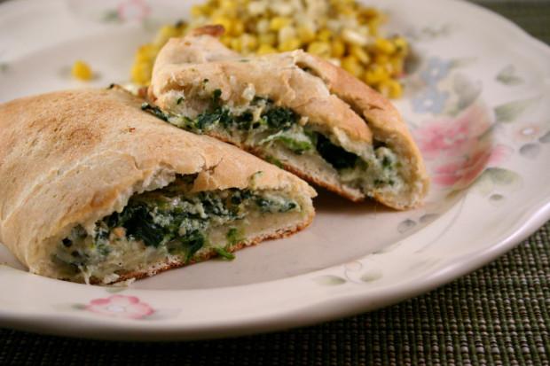 Spinach Calzone Recipe - Food.com
