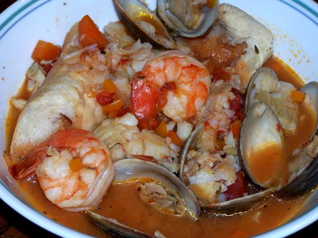 Easy italian fish stew recipe