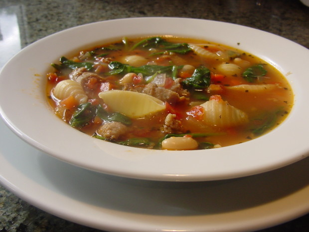 Soup recipes with pasta shells