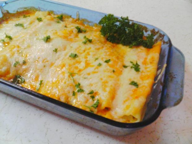 Easy stuffed cannelloni recipe