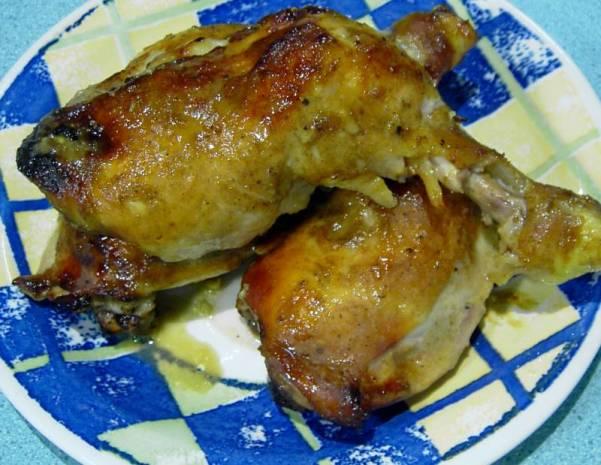 Baked honey mustard curry chicken recipe
