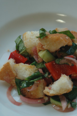 barefoot contessas panzanella salad recipe - food