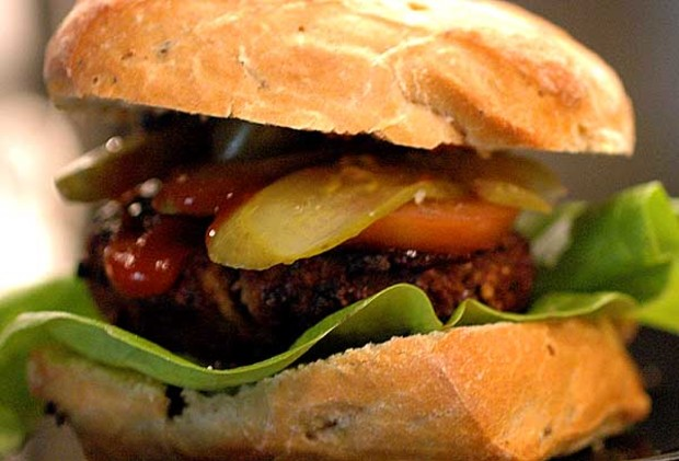 Teriyaki pork burgers recipe