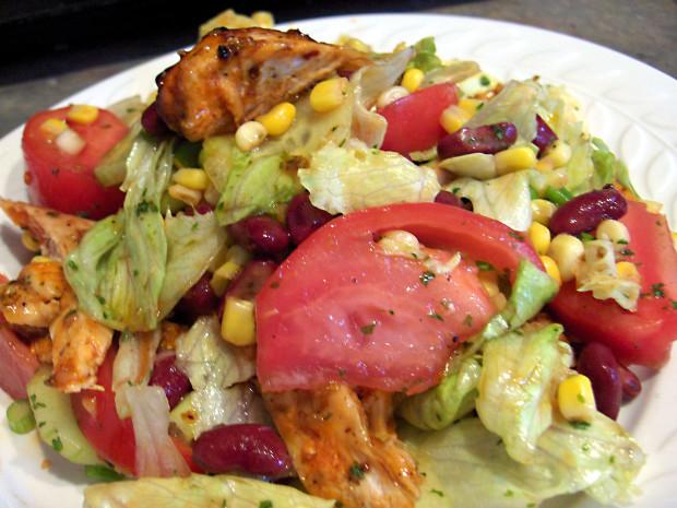 Western chicken salad recipe