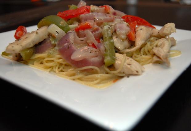 Chicken Scampi Food Network
