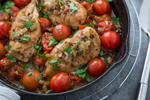 Recipes chicken and cherry tomatoes