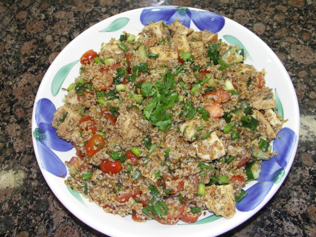 chicken with tabbouleh barefoot contessa) ina garten recipe - food
