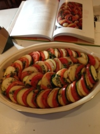 barefoot contessas vegetable tian ina garten ) recipe - food
