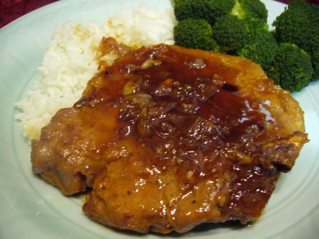 Recipe for pork sirloin steaks