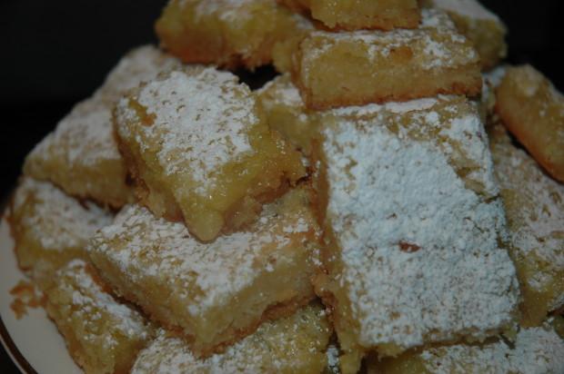 Lemon bar cookies recipe