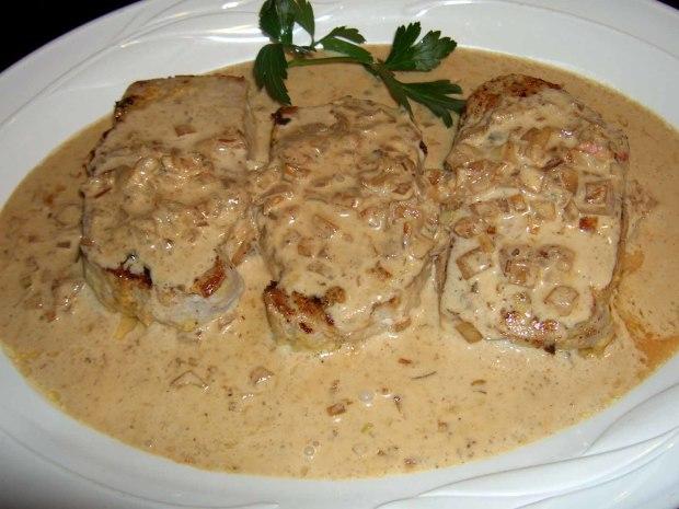Pork tenderloin cream sauce recipe
