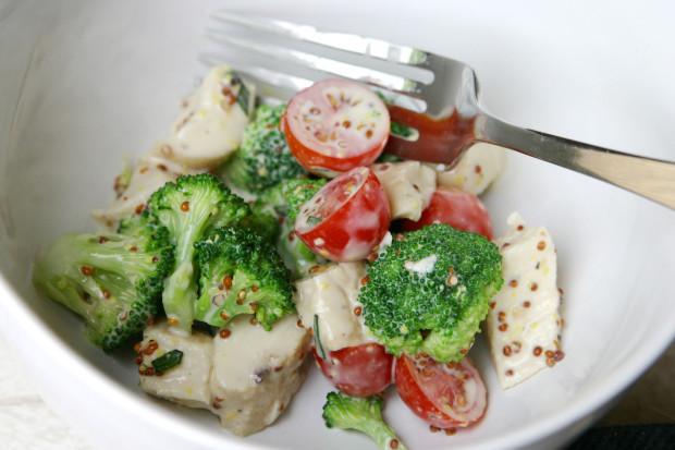 barefoot contessa mustard chicken salad recipe - food