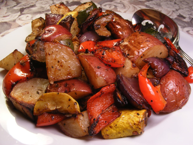 Mediterranean Roasted Vegetables | Co op, stronger together