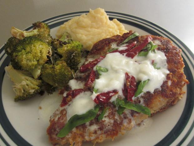 bjs restaurant parmesan crusted chicken recipe - food