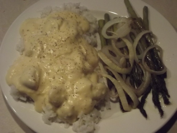 Chicken with white sauce recipes