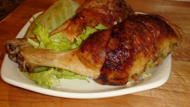 Stuffed chicken leg and thigh recipes