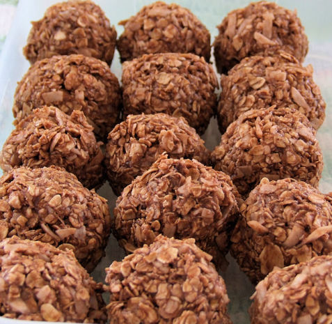 Sugarless no bake cookies recipe