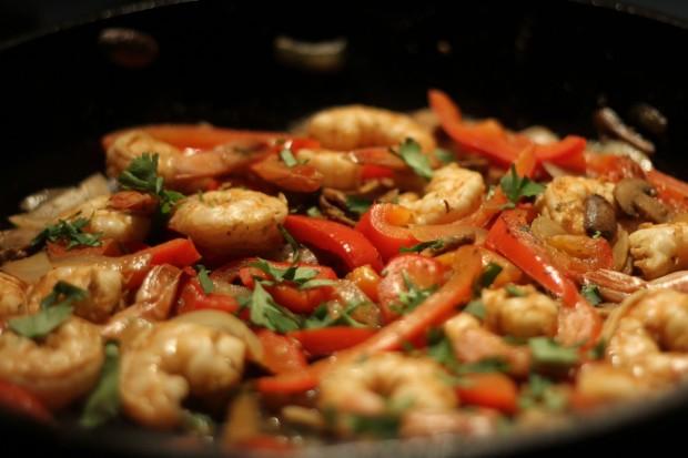 Shrimp Fajitas with Homemade Fajita Seasoning - Alaska from Scratch