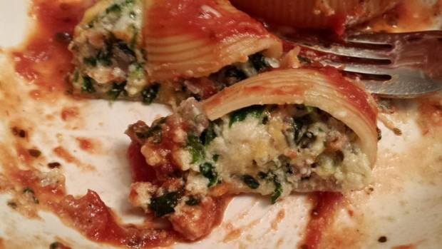 Italian sausage stuffed pasta shells recipe