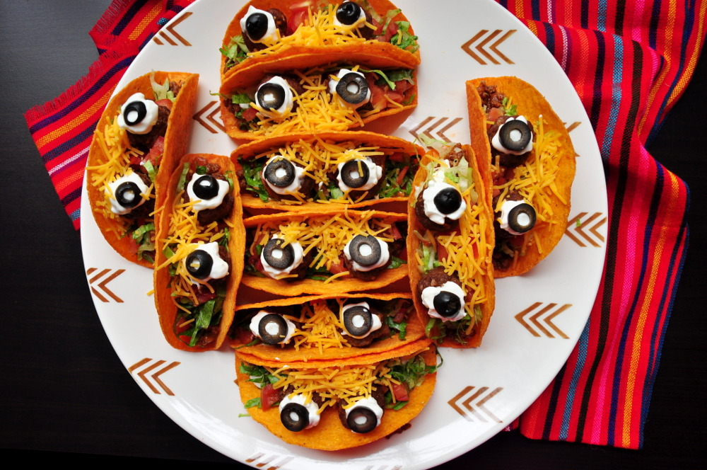 Image result for monster tacos halloween