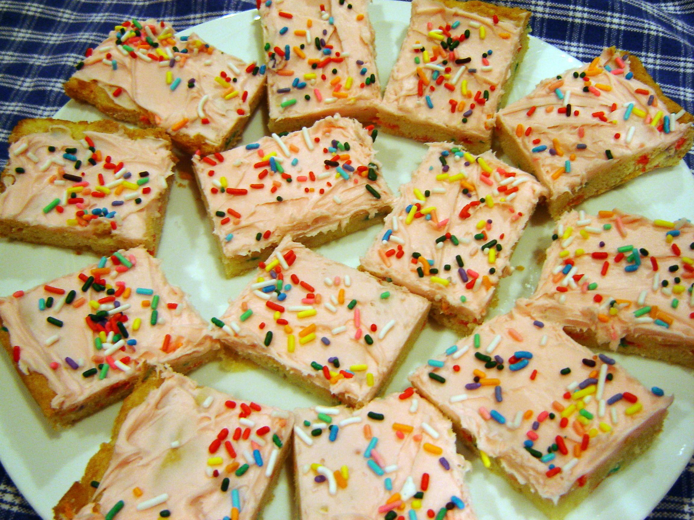 10 Birthday Cake Flavored Treats