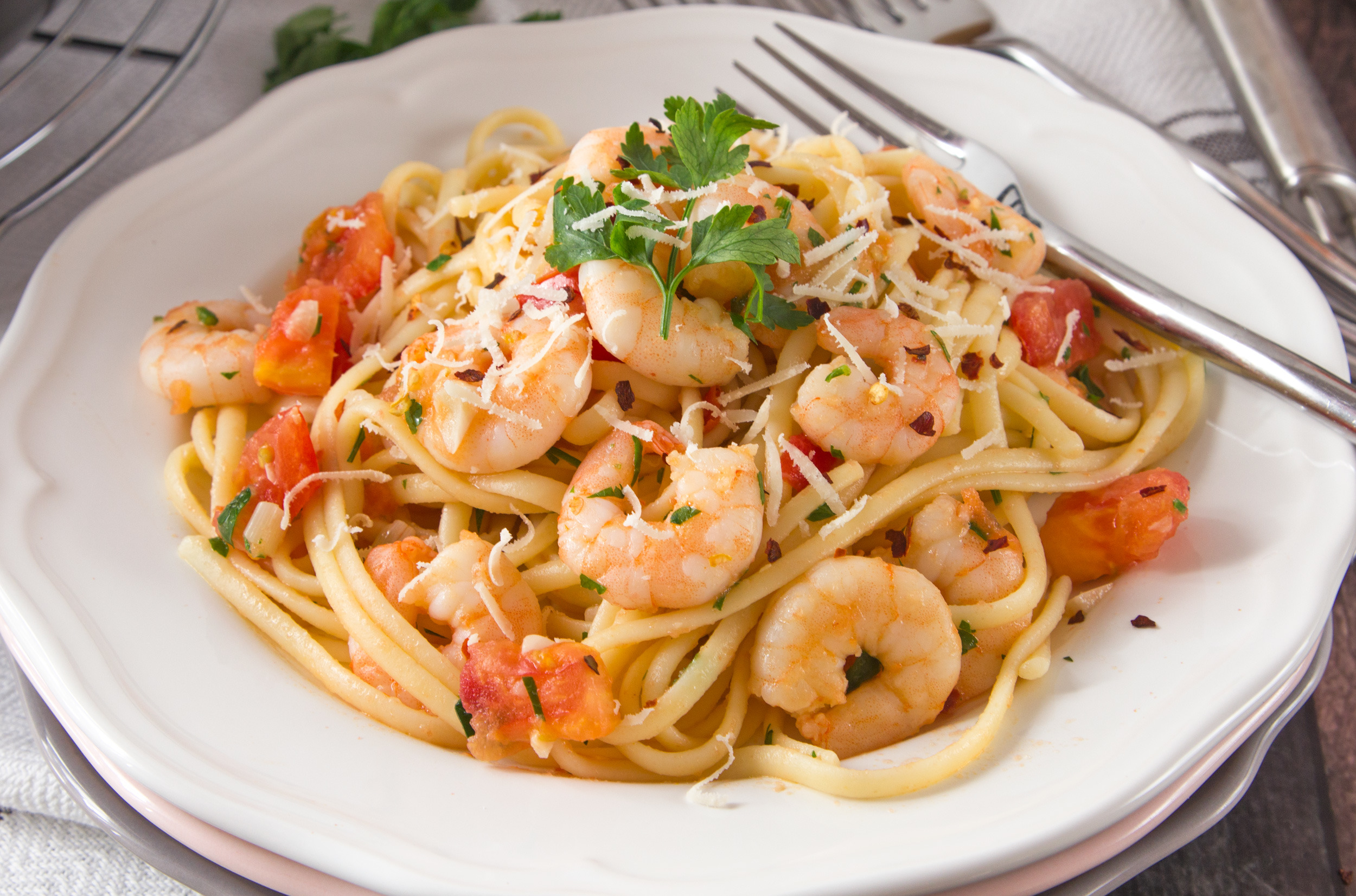 The Kitchen Recipes Shrimp Scampi