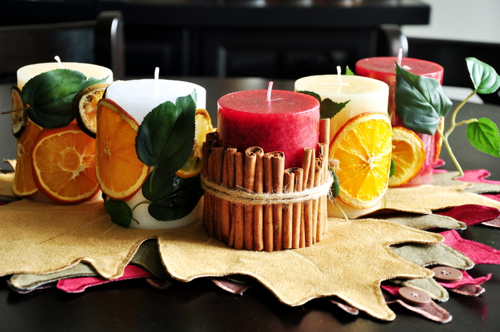 Festive Thanksgiving Centerpieces
