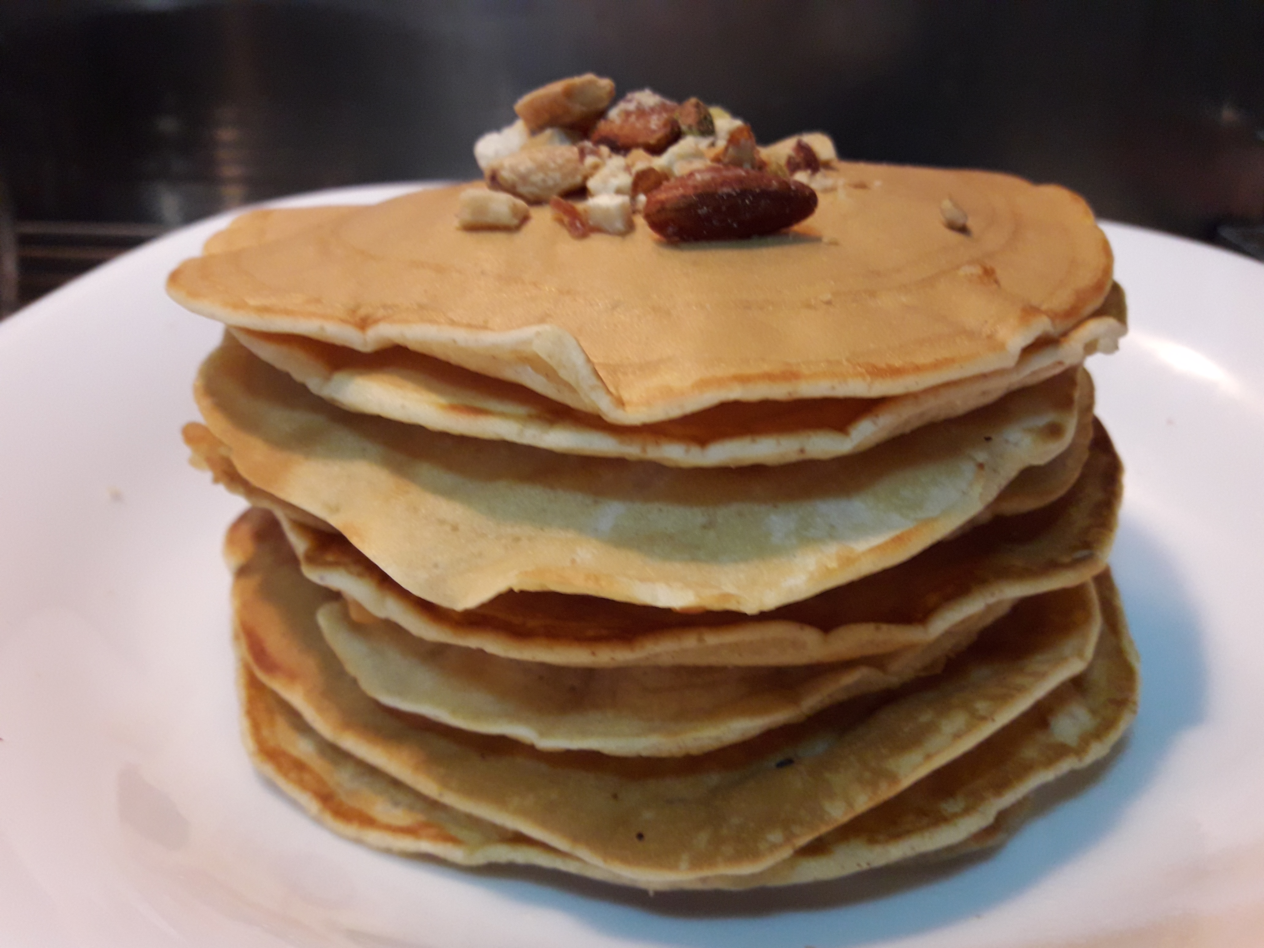 Fluffy pancakes recipe genius kitchen however i did not get a lot of rise from the pancakes so they were slightly more chewy than fluffy my family liked it though ccuart Choice Image