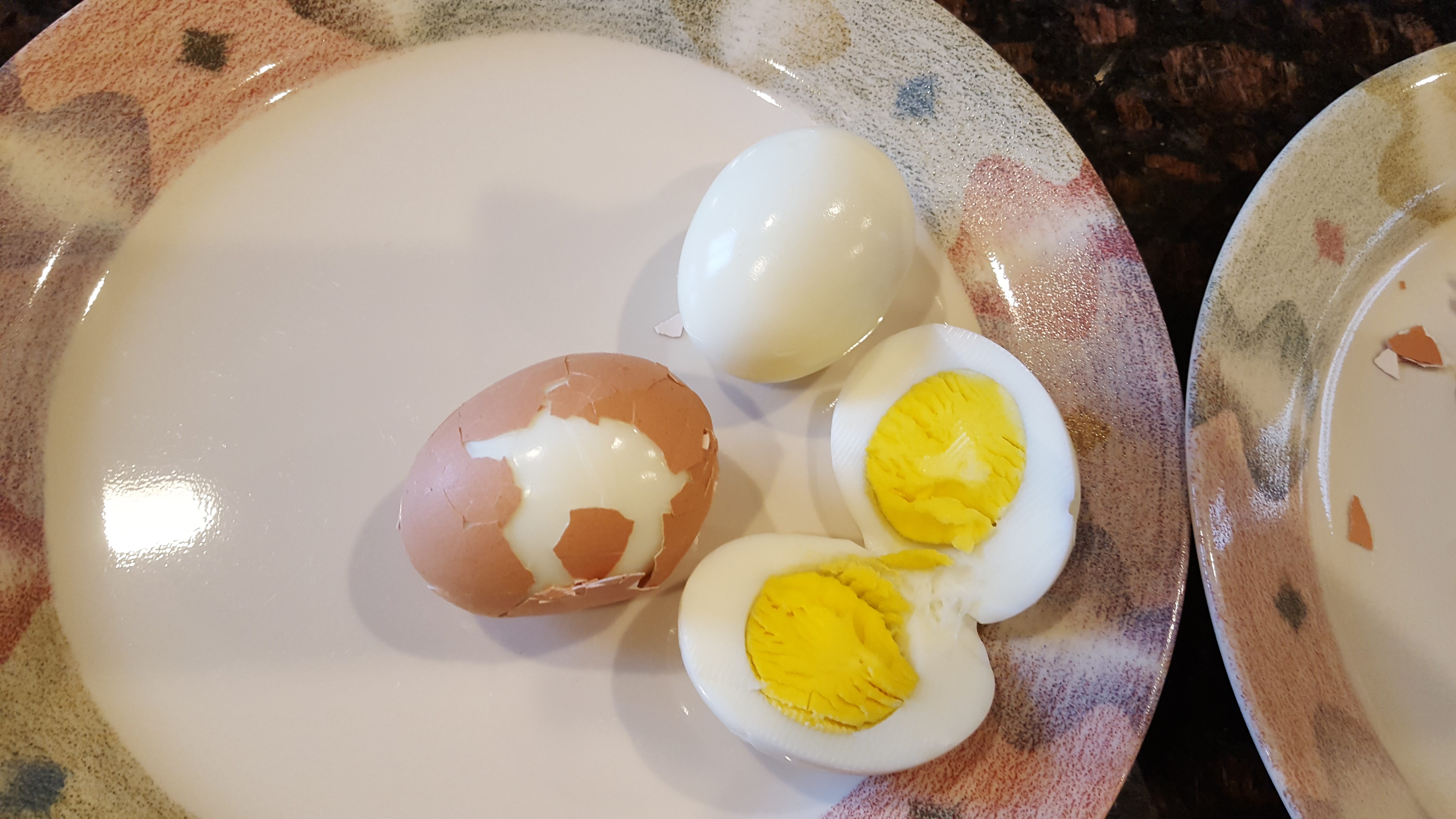 It Made Hard Boiled Eggs As They Should Be: Easy!