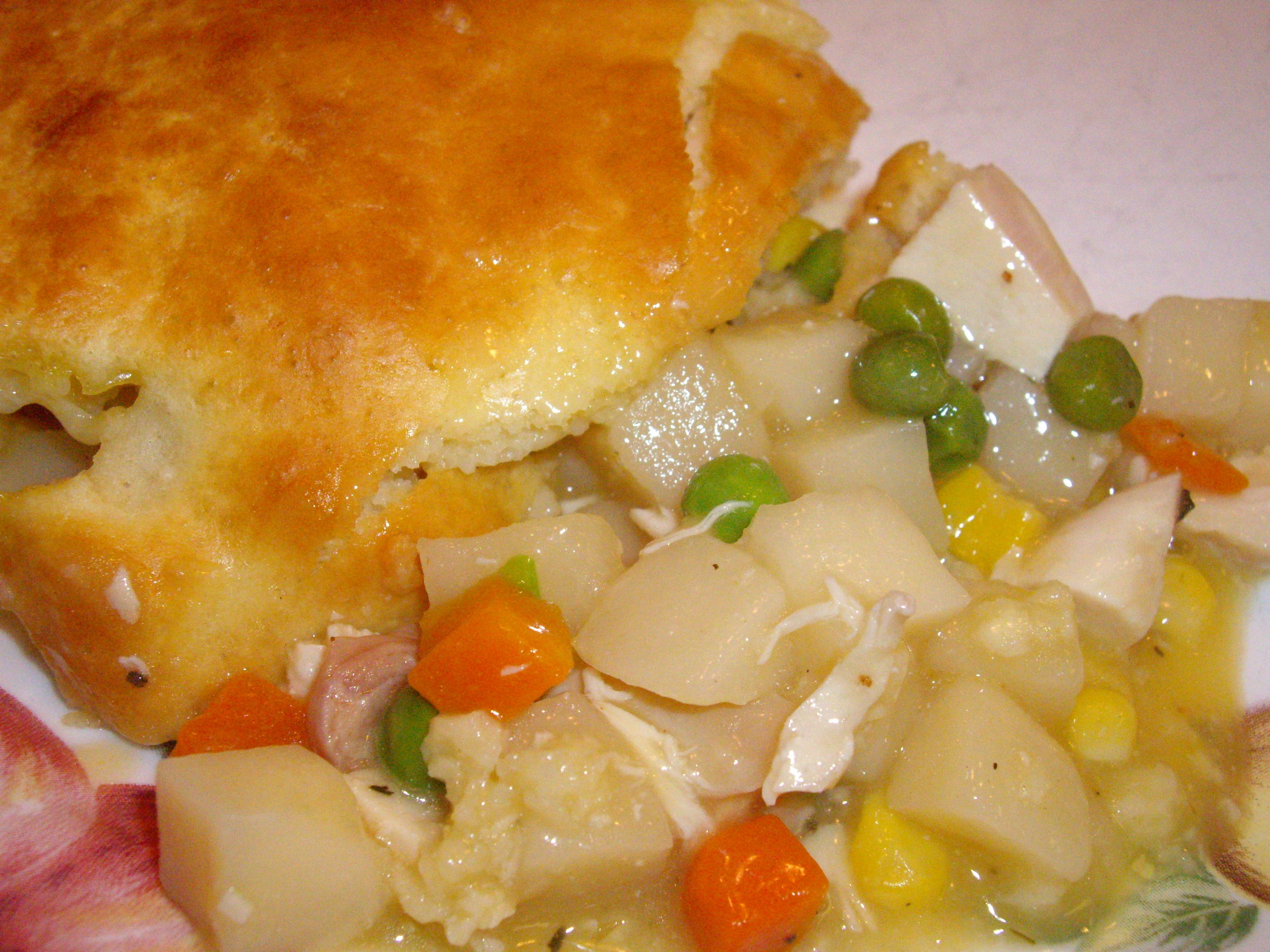 Easy Bisquick Chicken Pot Pie