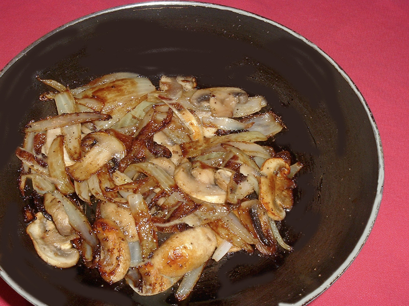 Mushrooms and Onions for Steak Recipe