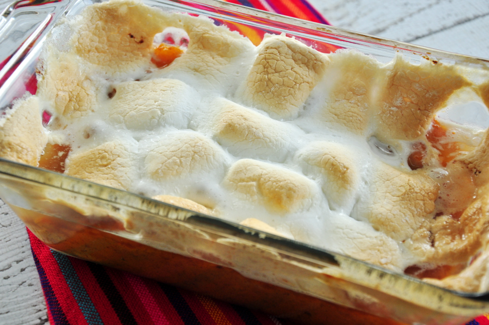 Sweet Potato (Yam) Casserole With Marshmallows Recipe