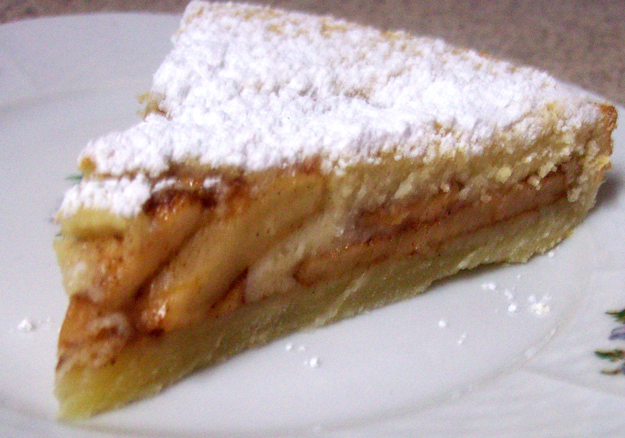 Tarte Aux Pommes (French Apple – Custard Tart)