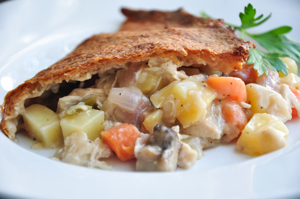 Delicious Chicken Pot Pie