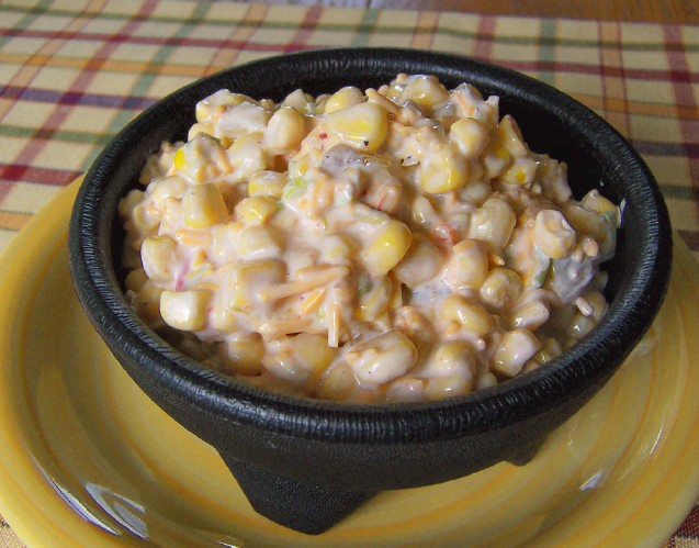 Best  Mexican Cheese Corn Dip Ever