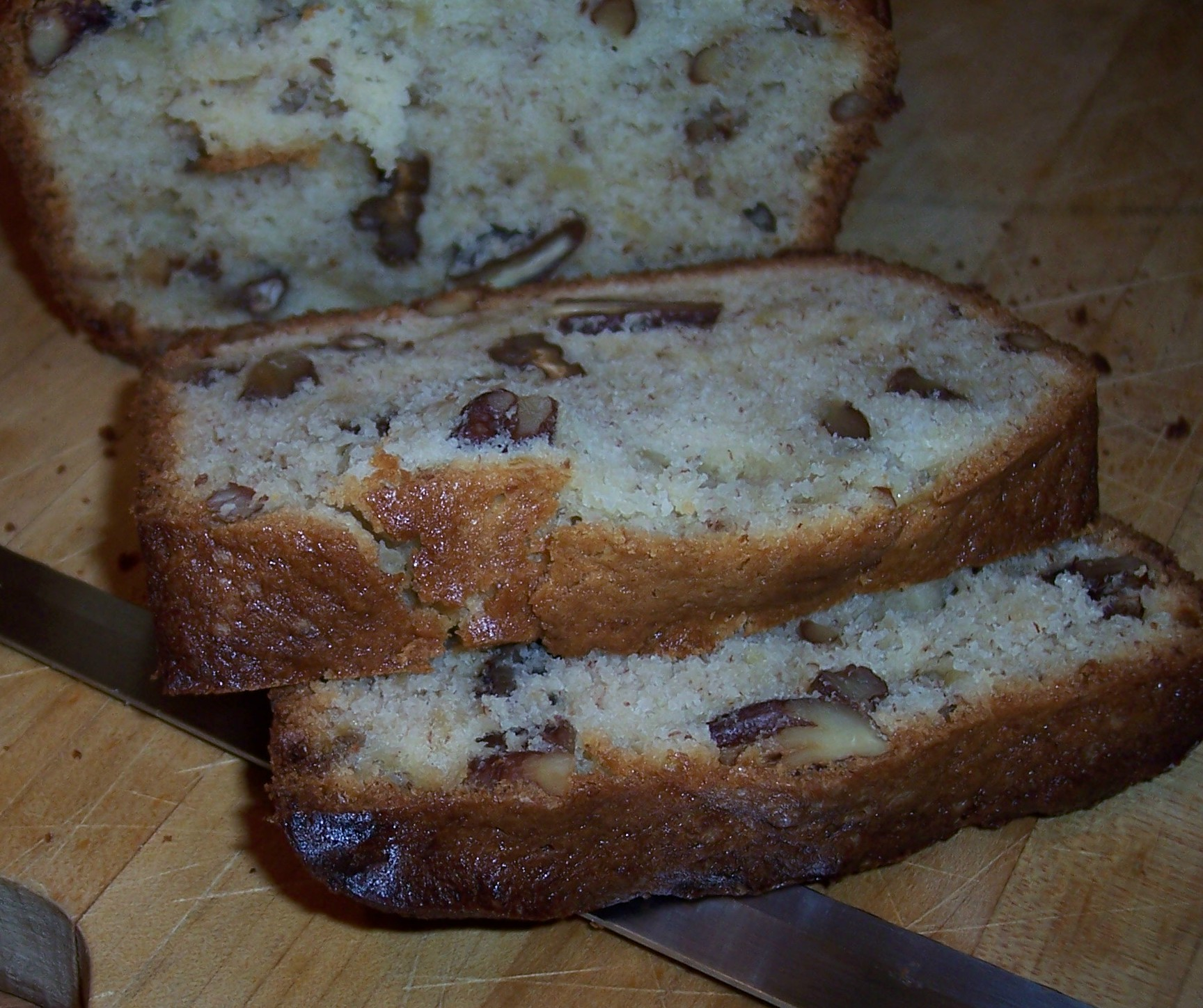 Cream Cheese Banana-Nut Bread