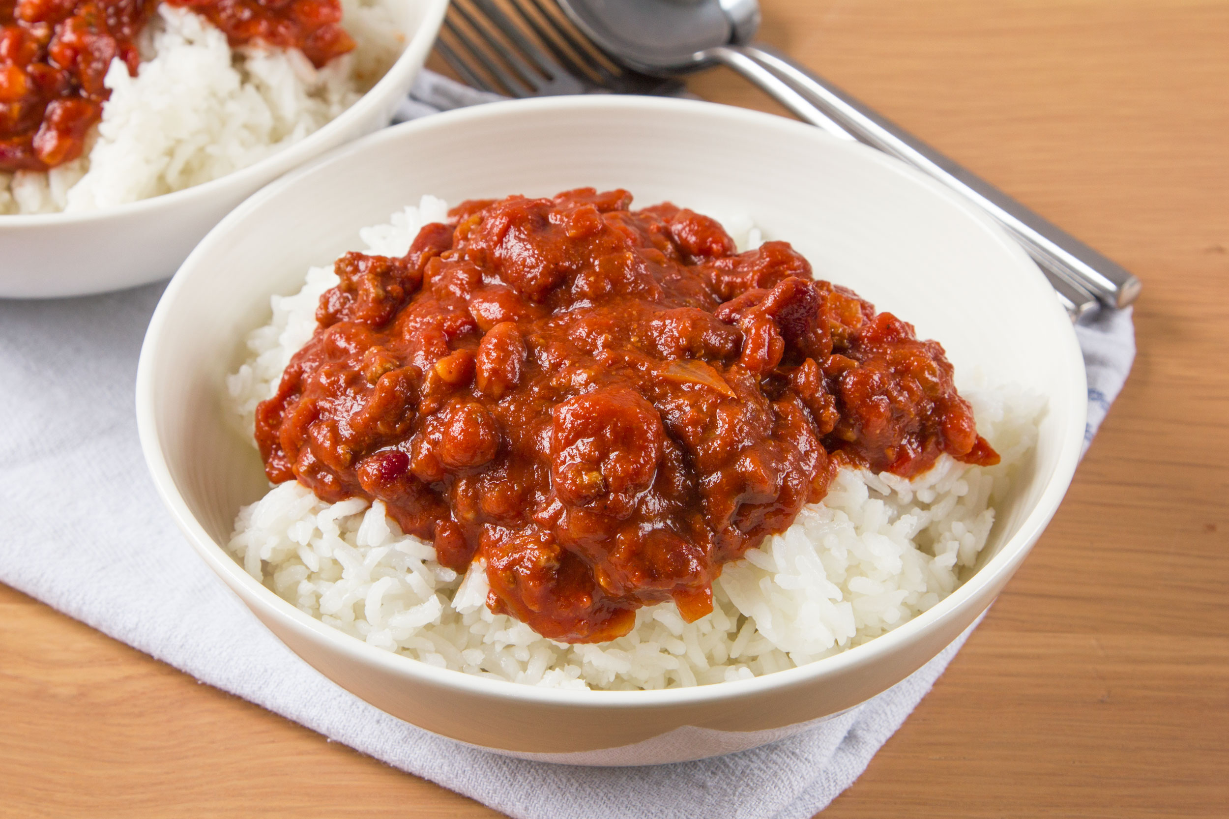 Chili Con Carne With Beans Recipe