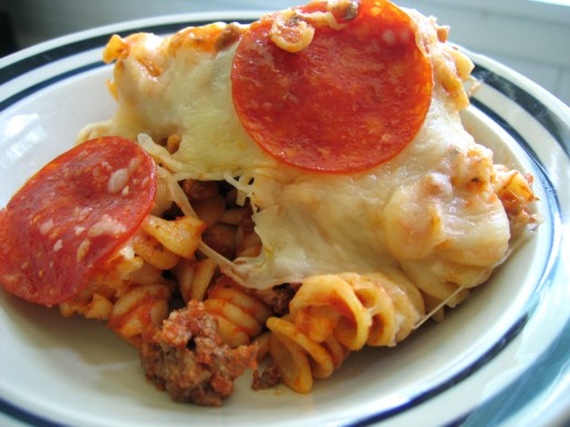 Easy Pizza Pasta Casserole (OAMC) Recipe