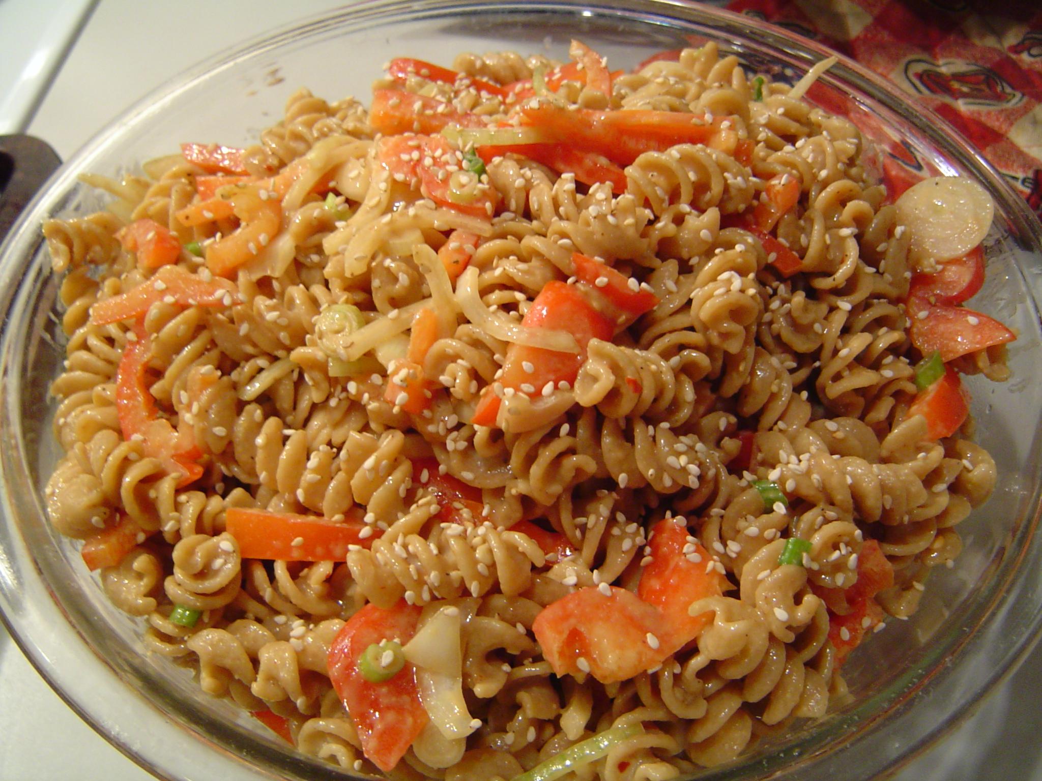 Peanutty Sesame Noodles Recipe