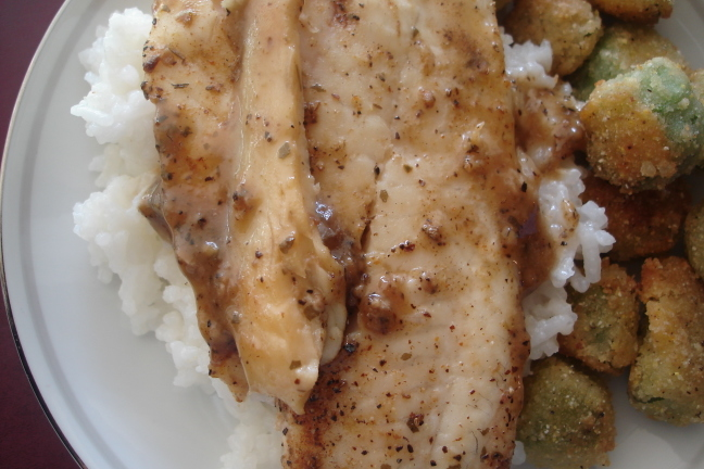 Joshua's Favorite Tilapia With Jasmine Rice Recipe