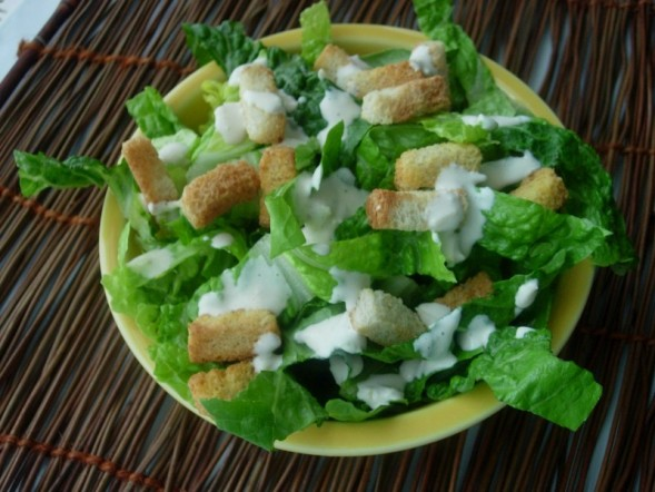 Kittencal's Famous Caesar Salad Recipe