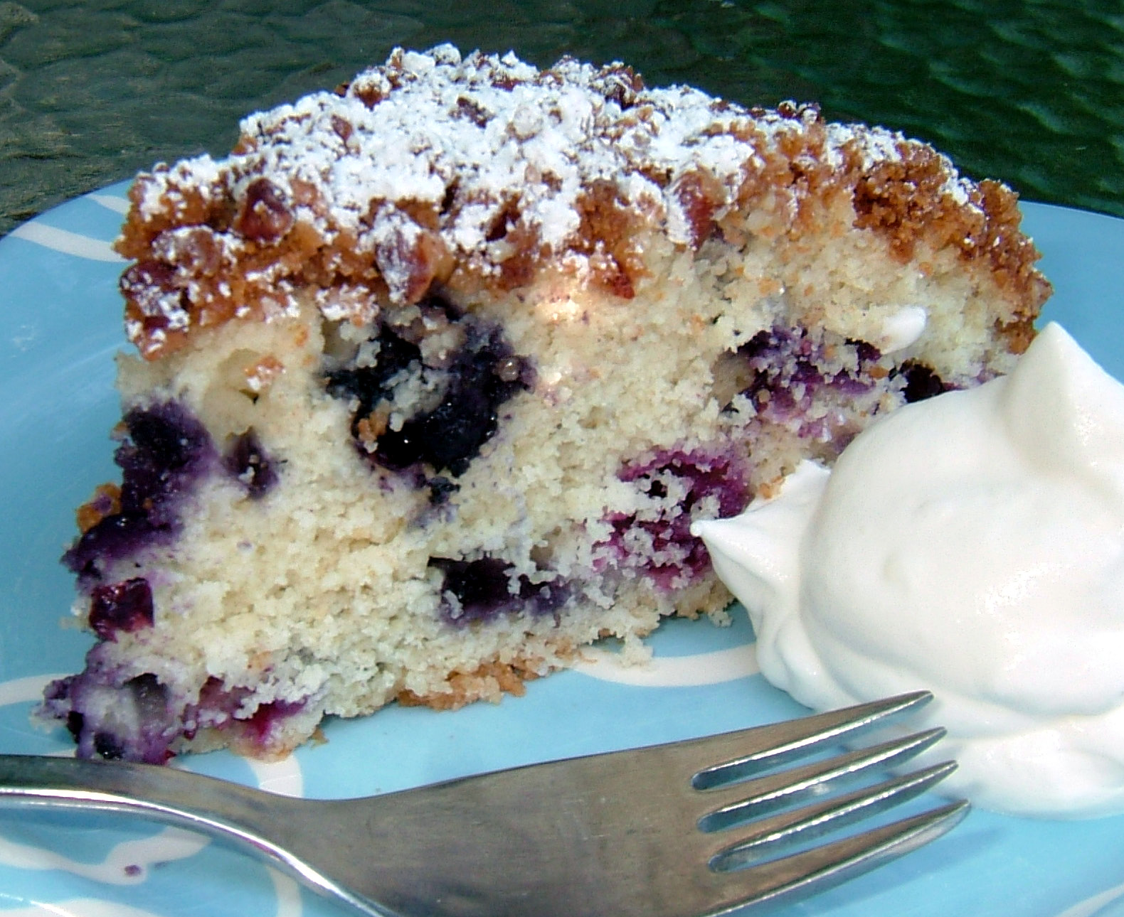 Tons of Blueberry Coffee Cake Recipe
