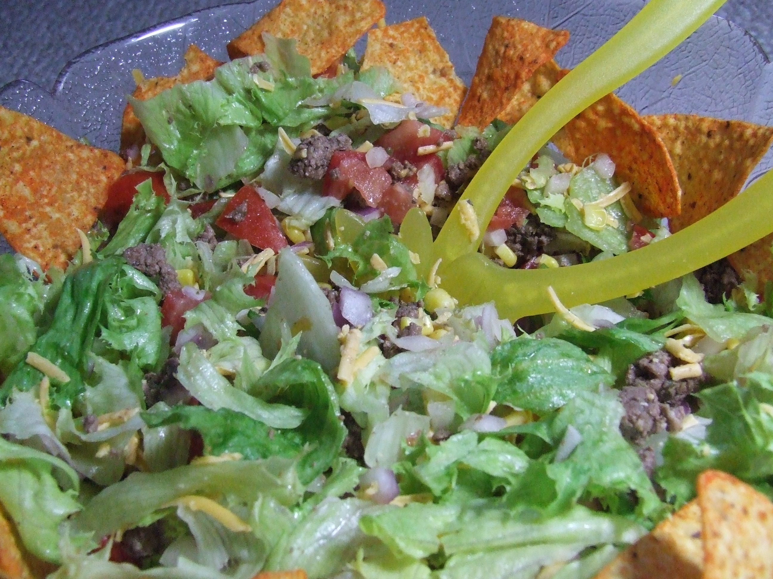 Kittencal's Taco Salad for a Crowd