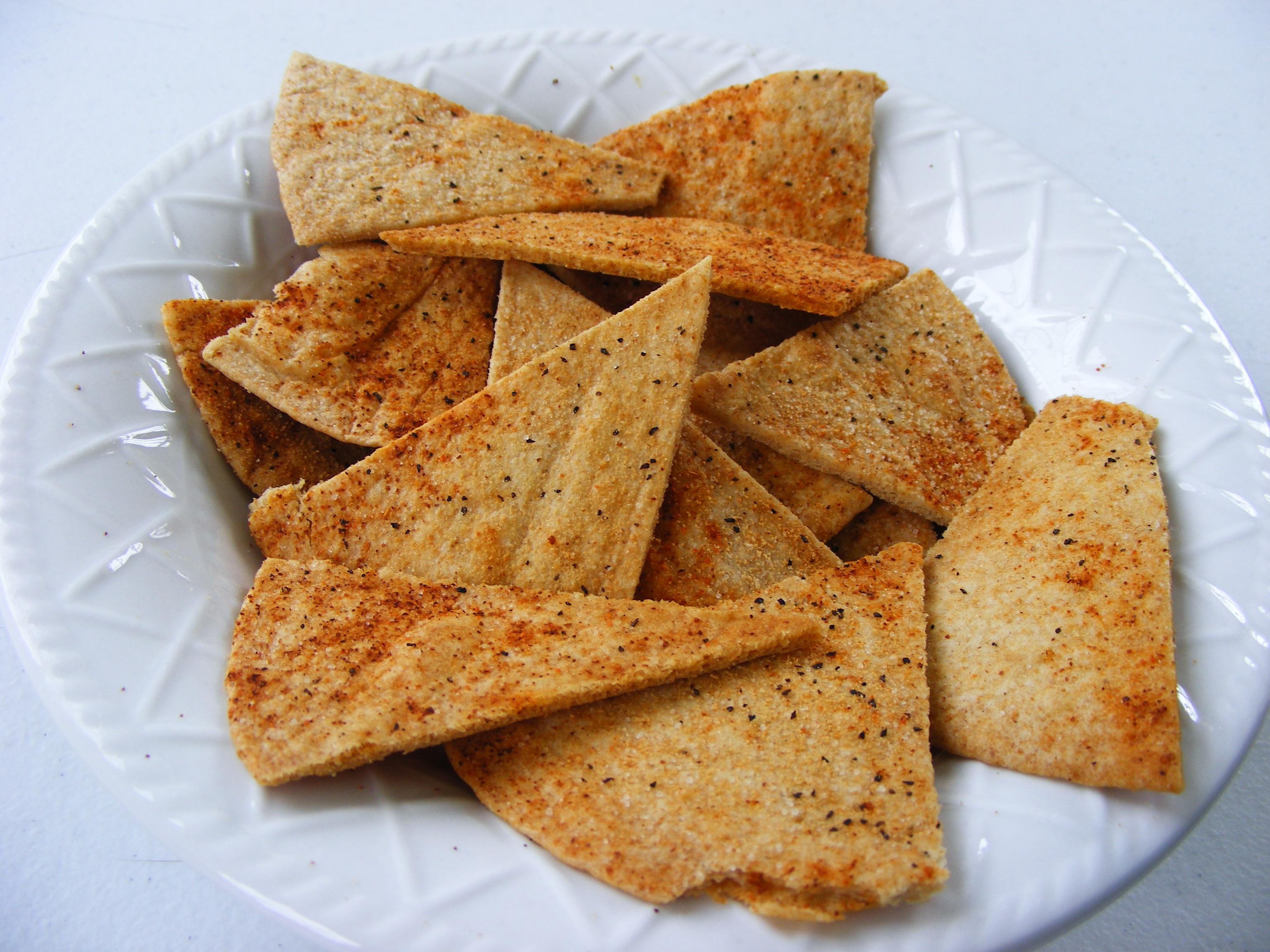 Homemade Baked Chips (Tortilla or Pita) Recipe