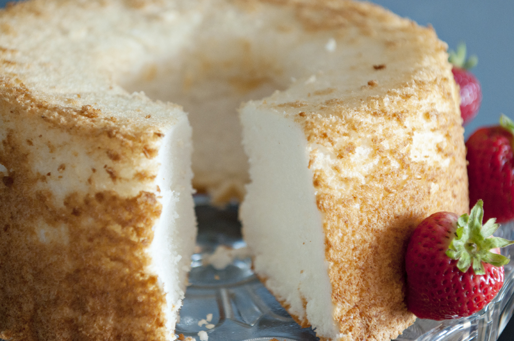 Angel Food Cake – Homemade