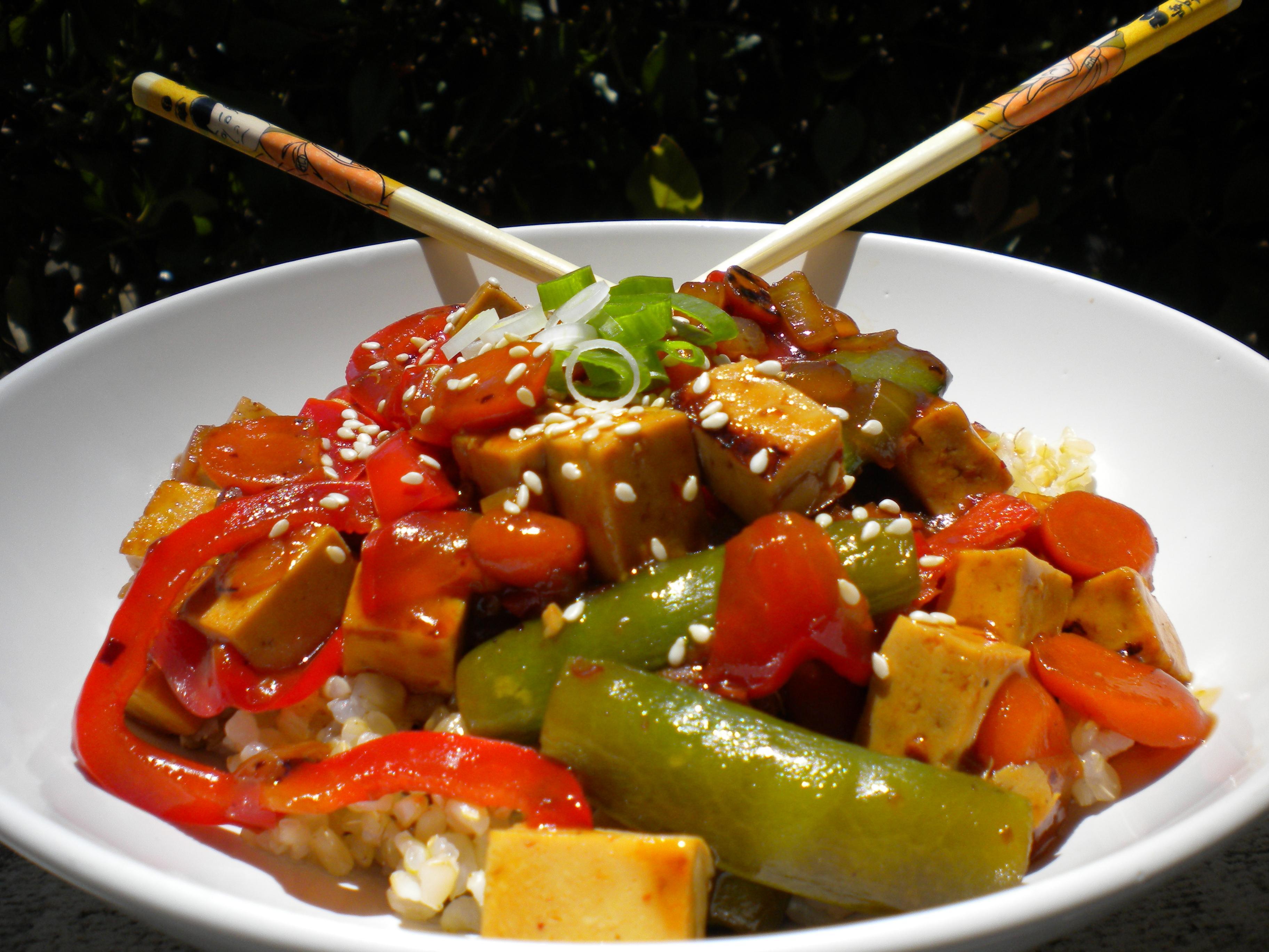 Kumquat's Spicy Oriental Stir-Fry