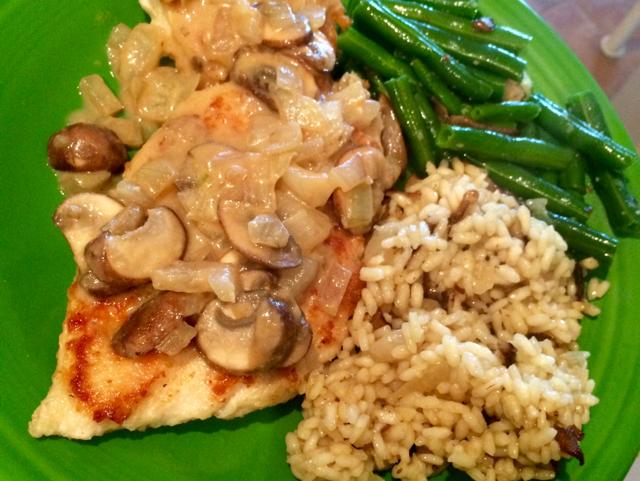 Chicken With Mushrooms and Mustard Recipe