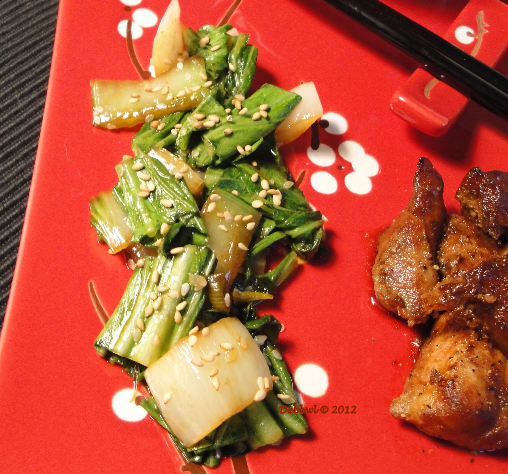 Sesame Bok Choy