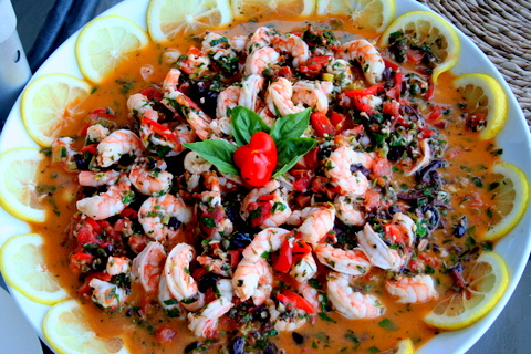 Mediterranean Scampi Recipe
