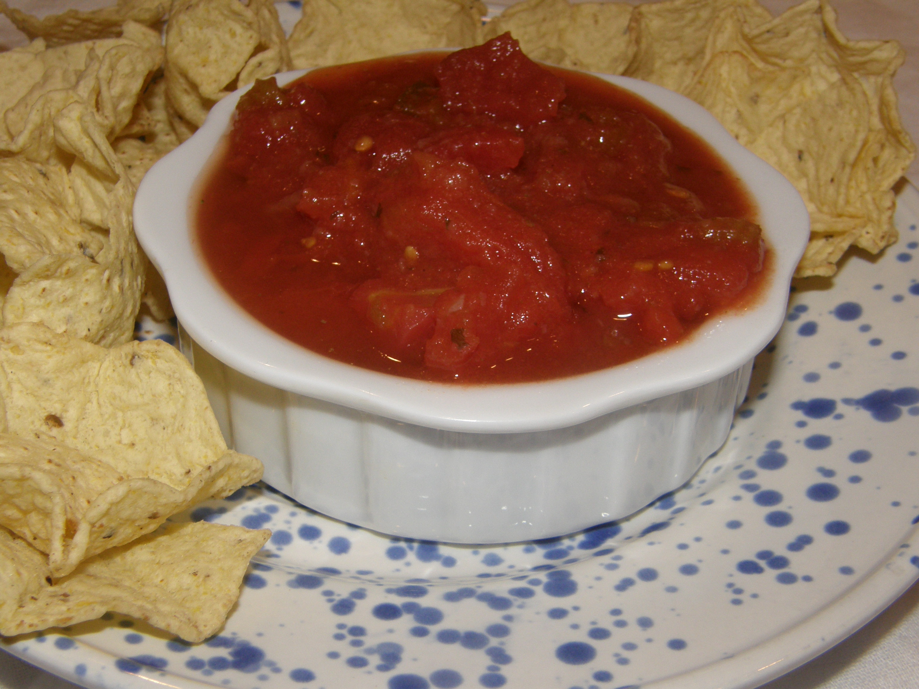 The Best Restaurant Salsa Made at Home